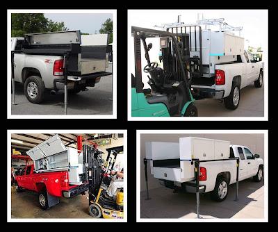 Transferable Truck Bodies, Fleetwest, Load'N'Go, Durashell, pickup work truck, toolbox