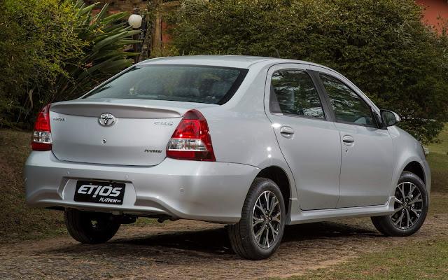 Toyota Etios 2017 Automático - financiamento