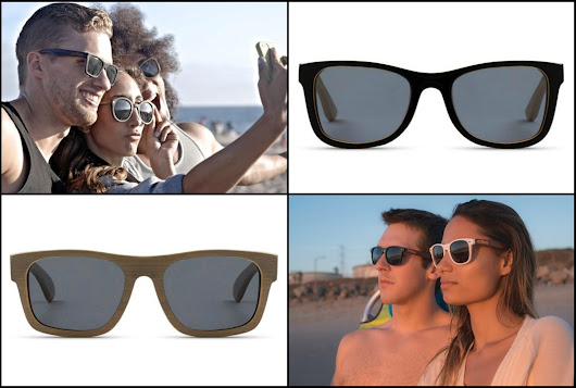 See the World with edlee Bamboo and Wooden Polarized Sunglasses {Review}