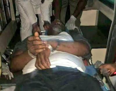 Dino Melaye In Handcuffs, His Arrest Forces Senate Shutdown