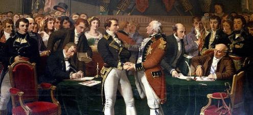 Paz de Amiens y Napoleon Bonaparte