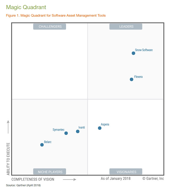 Gartner, SAM Tools, Solutie SAM, Software Asset Management, Solutie licentiere software, ,