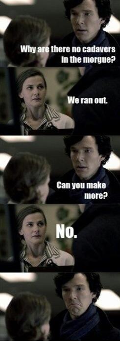 Fangirl Review Best Sherlock Memes