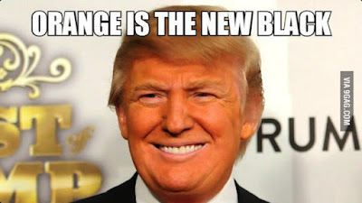 Donald Trump - Orqange is the new black meme picture