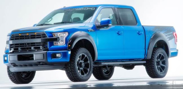 2016 Shelby F-150 Edition, Supercharged Engine