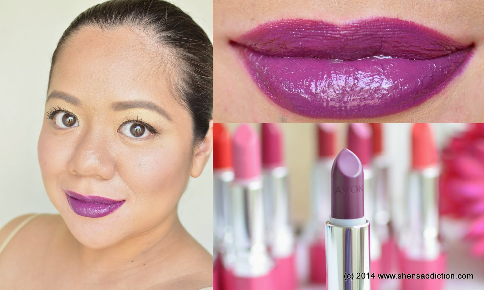 The Uncurated Life Avon Ultra Color Absolute Lipstick