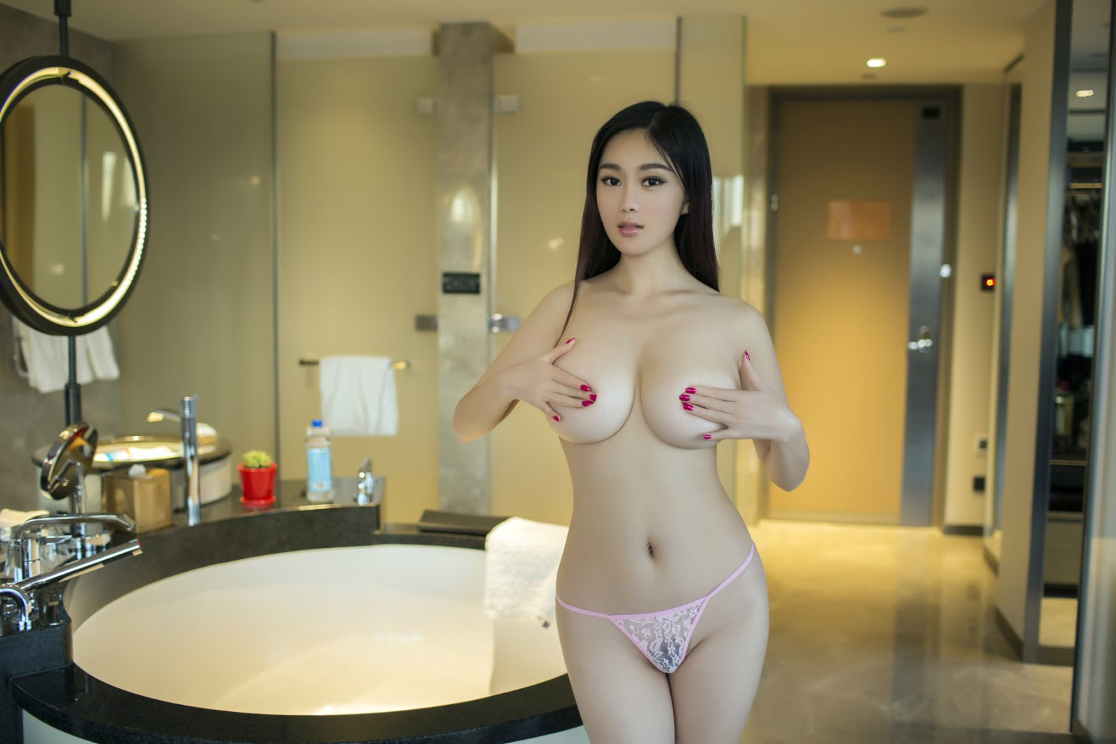 Breasted naked photo of china natural