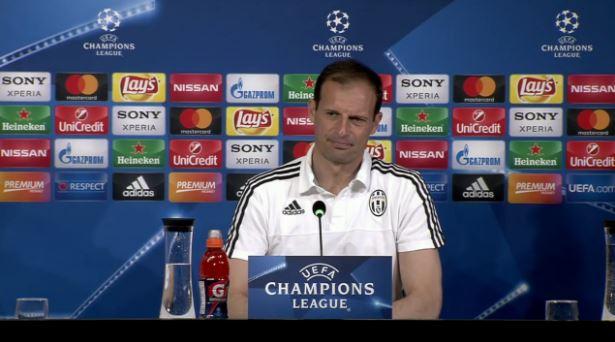 Juve - Barcellona, Allegri: