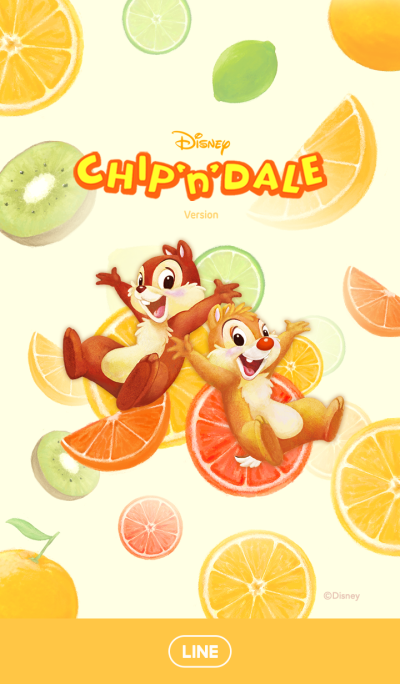 Chip 'n' Dale: Fruits
