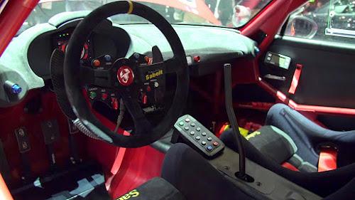 Abarth 124 Rally Interior