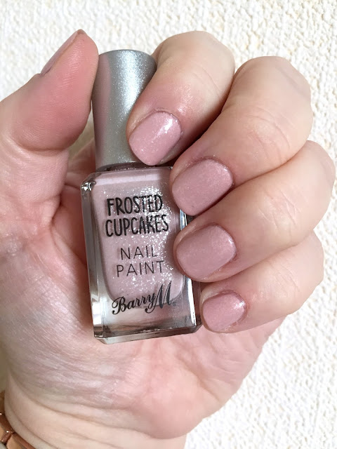 Barry M Frosted Cupcake Polishes - NOTD And Review