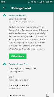 Cara Memulihkan Chat Whatsapp Dari Google Drive
