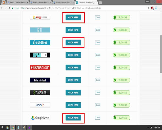 Tutorial Cara Mudah Mendownload via Mirrorcreator
