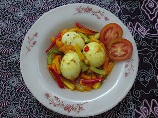 Telur Kuah Acar Kuning