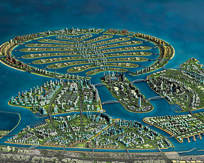 MEGAESTRUCTURAS: Palm islands