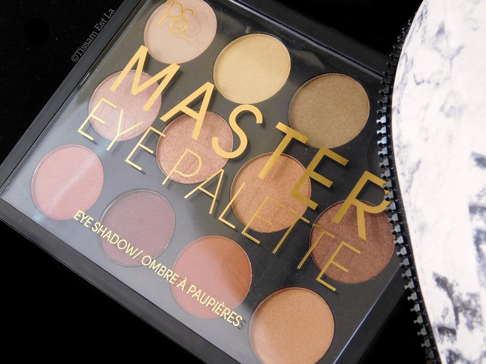 Primark PS... Master Eye Palette - Review & Swatches - Avis et Revue - Palette de fards à paupières - Master Highlight Palette - Master Blush Palette - Master Contour Palette - Penneys Swatch - M.A.C. Warm Neutral Palette Dupe