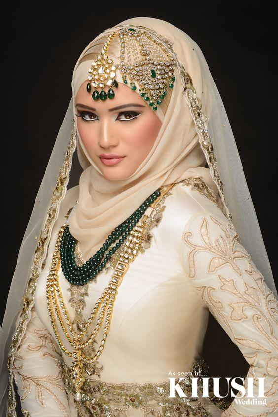 Model Hijab untuk Pengantin Muslim Terbaru 20162017