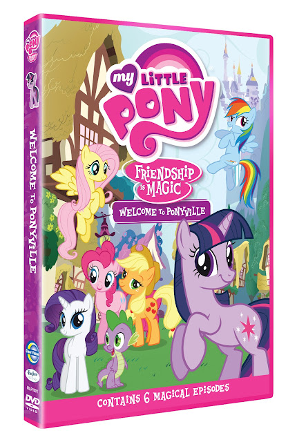 My Little Pony DVD, Friendship is Magic - Welcome to Ponyville, Ponies