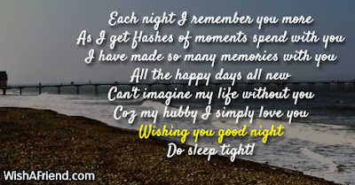 each good night i remember you more as i get flashes of moments