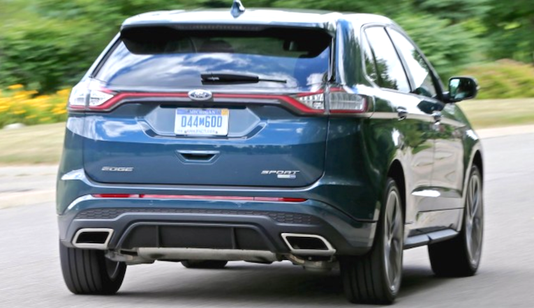 2019 Ford Edge Redesign