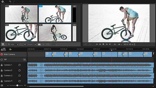 Software edit video terbaik yang bisa dicoba - Roxio Creator NXT