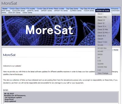 مهم جدا قبل تنزيل أي تحديث من المورسات لجهازك  Important MoreSat