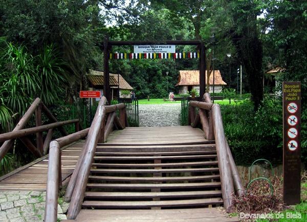 Curitiba: Bosque do Papa