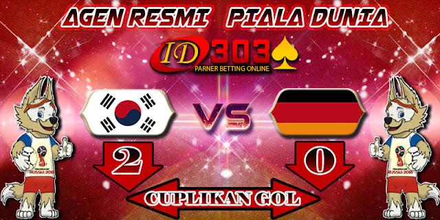 CUPLIKAN GOL SOUTH KOREA 2 - 0 GERMANY