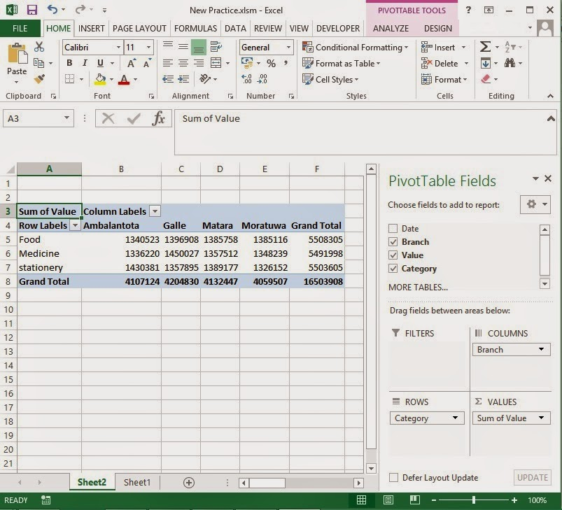 Excel-VBA Solutions: 2014