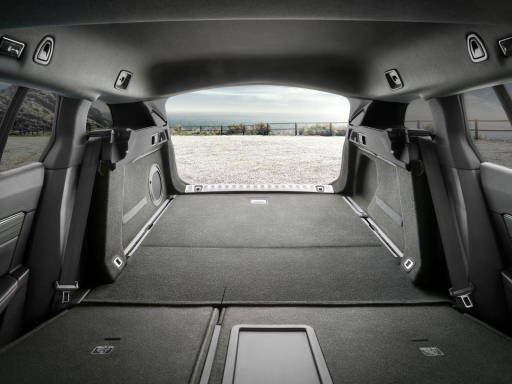 de 11 Barres de toit en Aluminium GA7 avec le toit panoramique Peugeot 508 SW