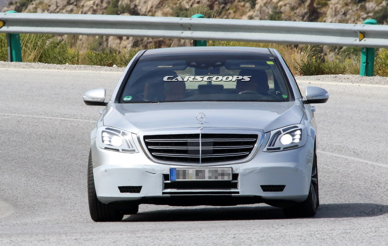 Mercedes V Class Moose Test