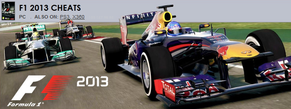 F1 2013 TRAINER/CHEAT/HACK