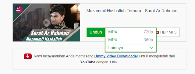 mengunduh video di youtube