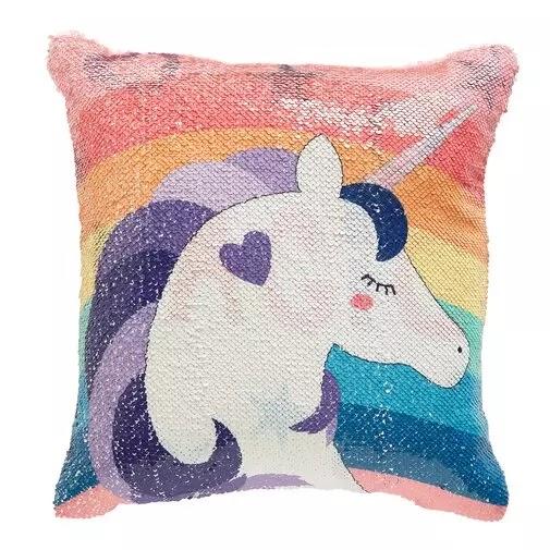 Elliana Unicorn Throw Pillow