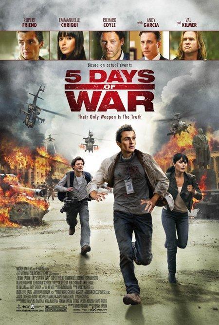 Descargar 5 Dias de Guerra 2011 hd Castellano English Latino
