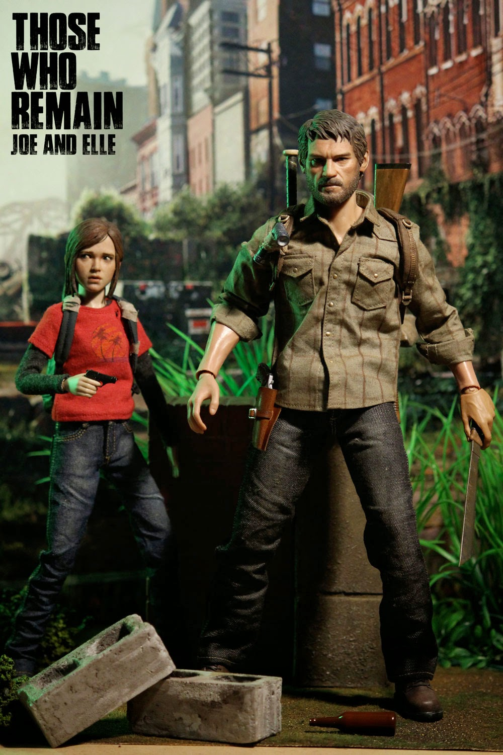 toyhaven iminime 1 6 scale custom figures those who remain joe and elle figures they look. Black Bedroom Furniture Sets. Home Design Ideas