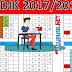 Kaldik Tahun Pelajaran 2017/2018 Lengkap Hari Efektif nya