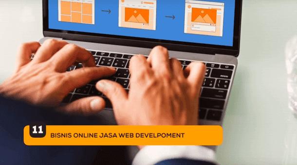 11. Bisnis Online Jasa Web Develovment