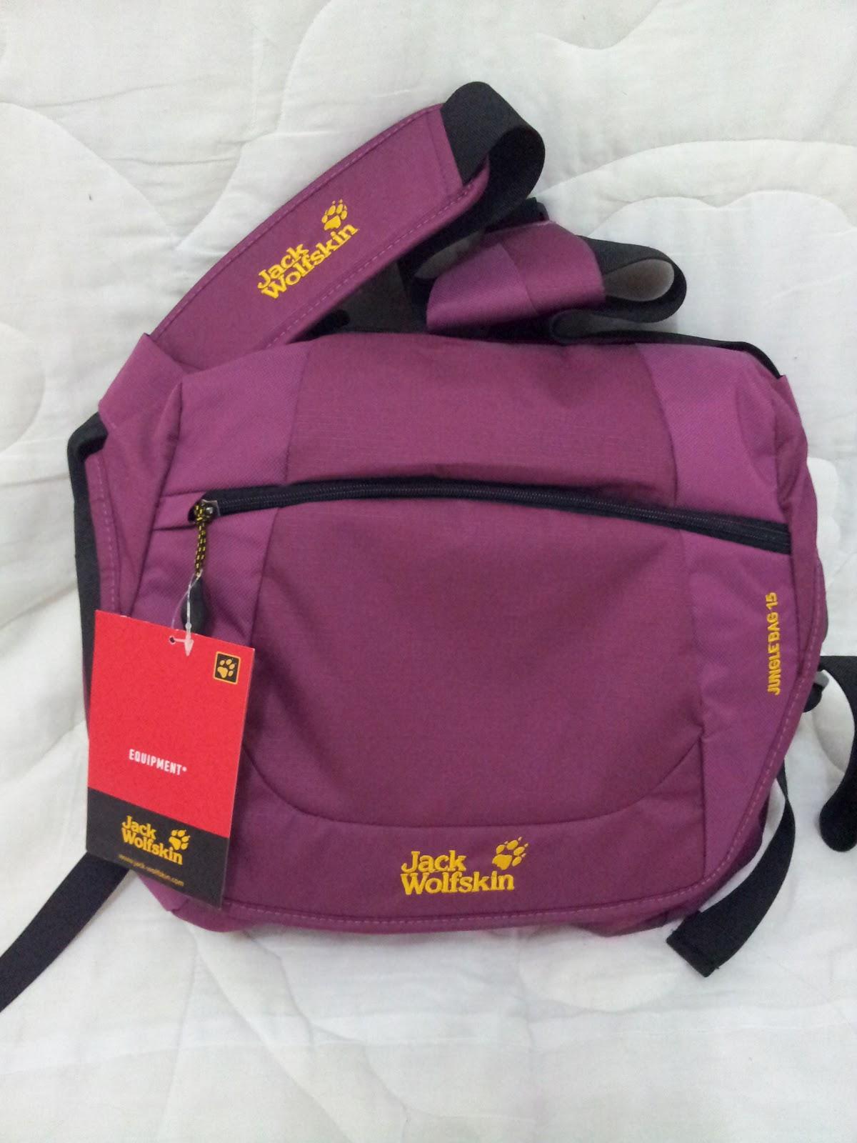 8ec75cf1fa Outdoor Shoppe Malaysia: Jungle Bag Jack Wolfskin 15