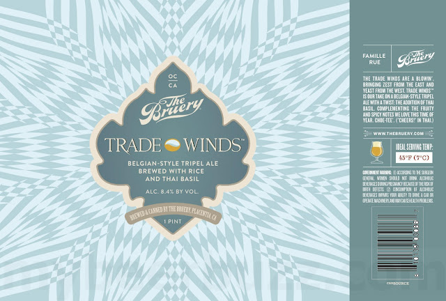 The Bruery Trade Winds Returning In 16oz Cans