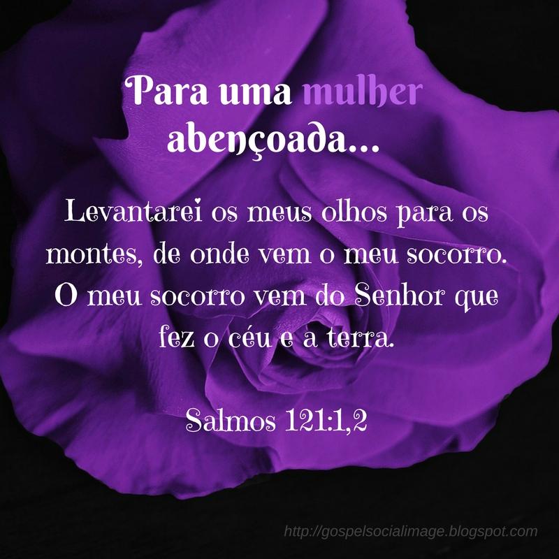 Imagem evangélica dia das mães - Salmos 121.1-2