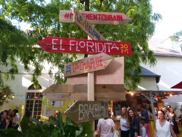 Plaza Havana Club Mojito Rhum Terrasse d'été apéro Paris Papa Cabane Spritz