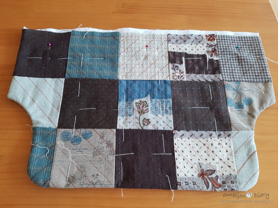Quilted Patchwork Tote Bag Tutorial: