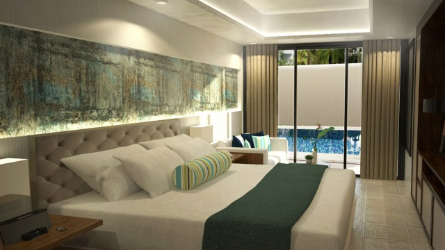 Deluxe Room at Henann Prime Beach Resort