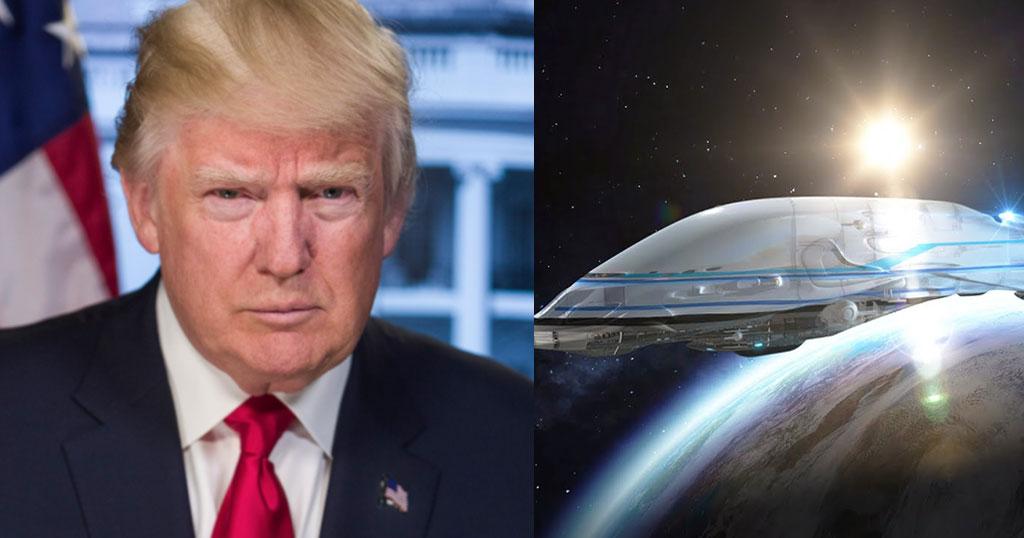 O Τραμπ ιδρύει διαστημική πολεμική αεροπορία