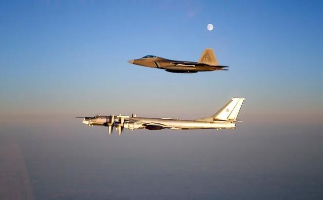 US fighter jets intercept 2 Russian bombers off Alaska
