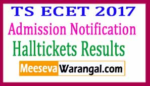 Telangana TSECET 2017 Notification Online Application Exam Dates Syllabus Halltickets Results