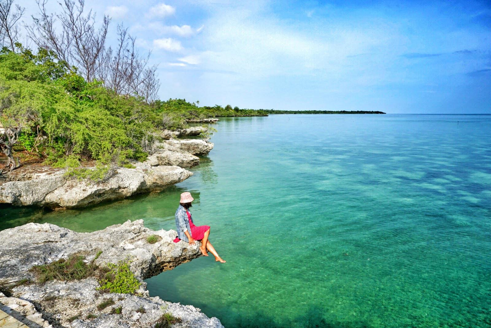 pulau wakatobi hoga manis cewek suka menyelam dan diving
