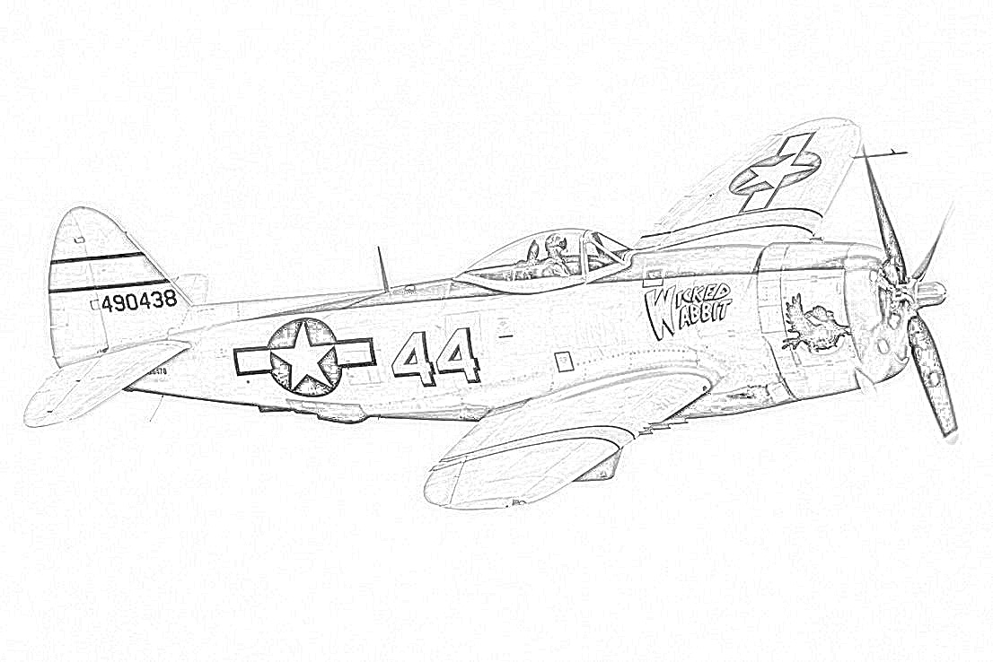 World War II in Pictures: Fighter Coloring Pages World War II | 738x1106