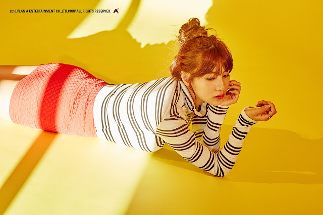 Hayoung A Pink Teaser Comeback Background